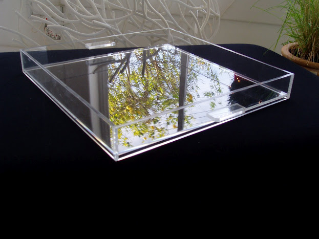 Lucite Clear Tray